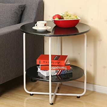 Amazoncom Ghm Home Dining Table Coffee Tablewhite Black Red