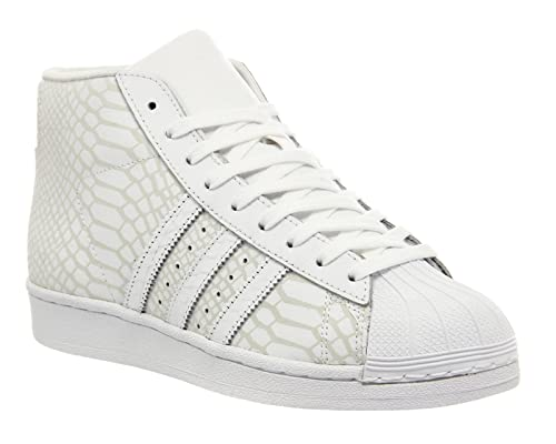Adidas, Donna, Promodel Bianco, Pelle, Sneakers, Bianco, 40 EU