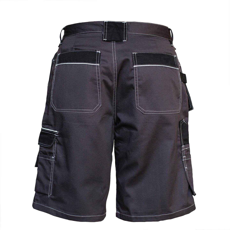 Pantaloni da Giardino Pantaloni Professionali Elementi Riflettenti durevoli Solido Pantaloncini da Lavoro da Uomo Pantaloni da Lavoro Pantaloncini da Giardino