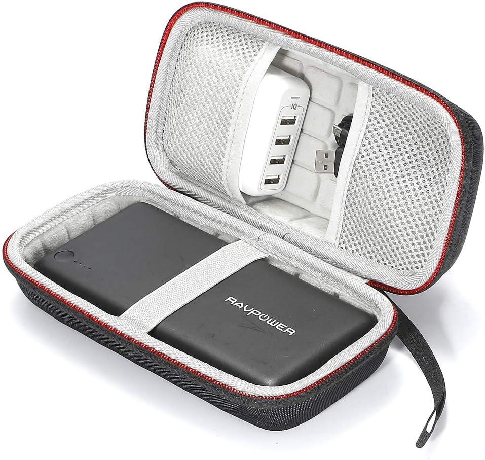 Estuche rígido para RAVPower 26800 Batería 26800mAh Cargador portátil. Bolsa de almacenamiento de viaje que lleva: Amazon.es: Electrónica