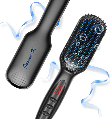 Amazon.com: Cepillo alisador de pelo, cepillo alisador de ...