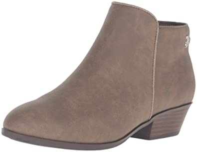 Sam Edelman Kids Girls' Petty Bootie Ankle Boot, Taupe, 1 M US Little