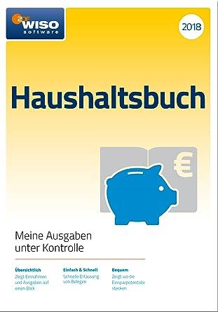 Wiso Haushaltsbuch 2018 Online Code Amazon De Software