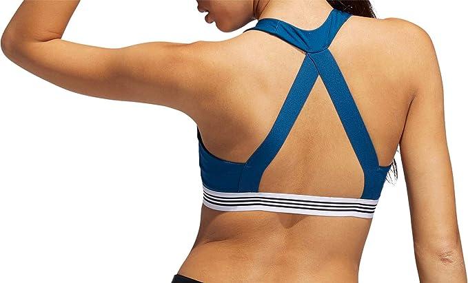 adidas Ace - Sujetador Deportivo de 3 Rayas para Mujer: Amazon.es ...