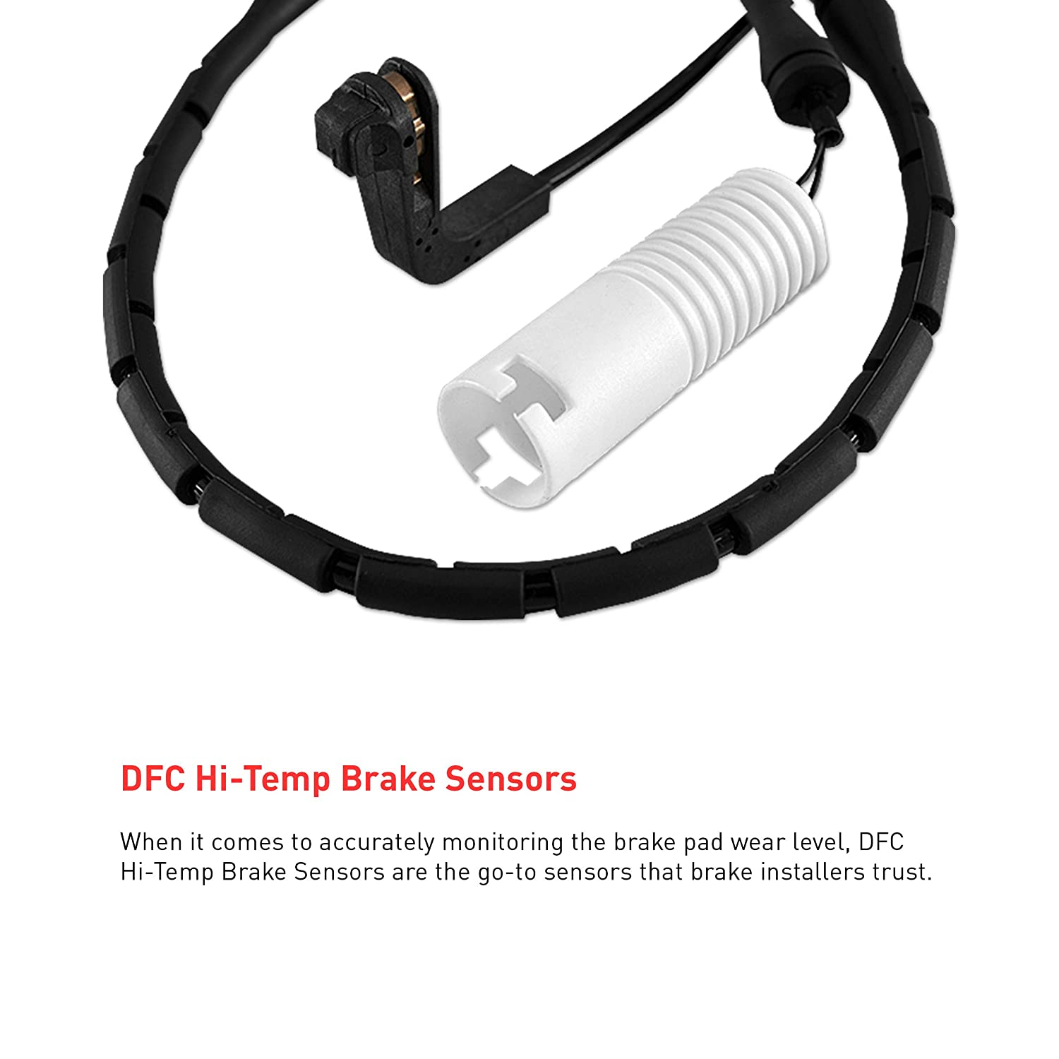 Front Dynamic Friction Company Brake Pad Wear Sensor Wire 341-31066