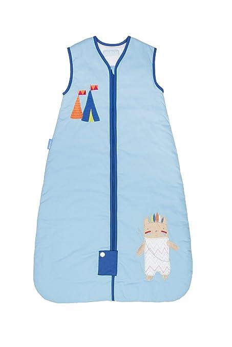 Grobag Saco de dormir para bebé, diseño de indio americano (1.0 Tog, 18