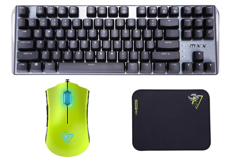 Rantopad メカニカルPCゲーミングキーボード/マウスパッドセット B07N8WDFLS