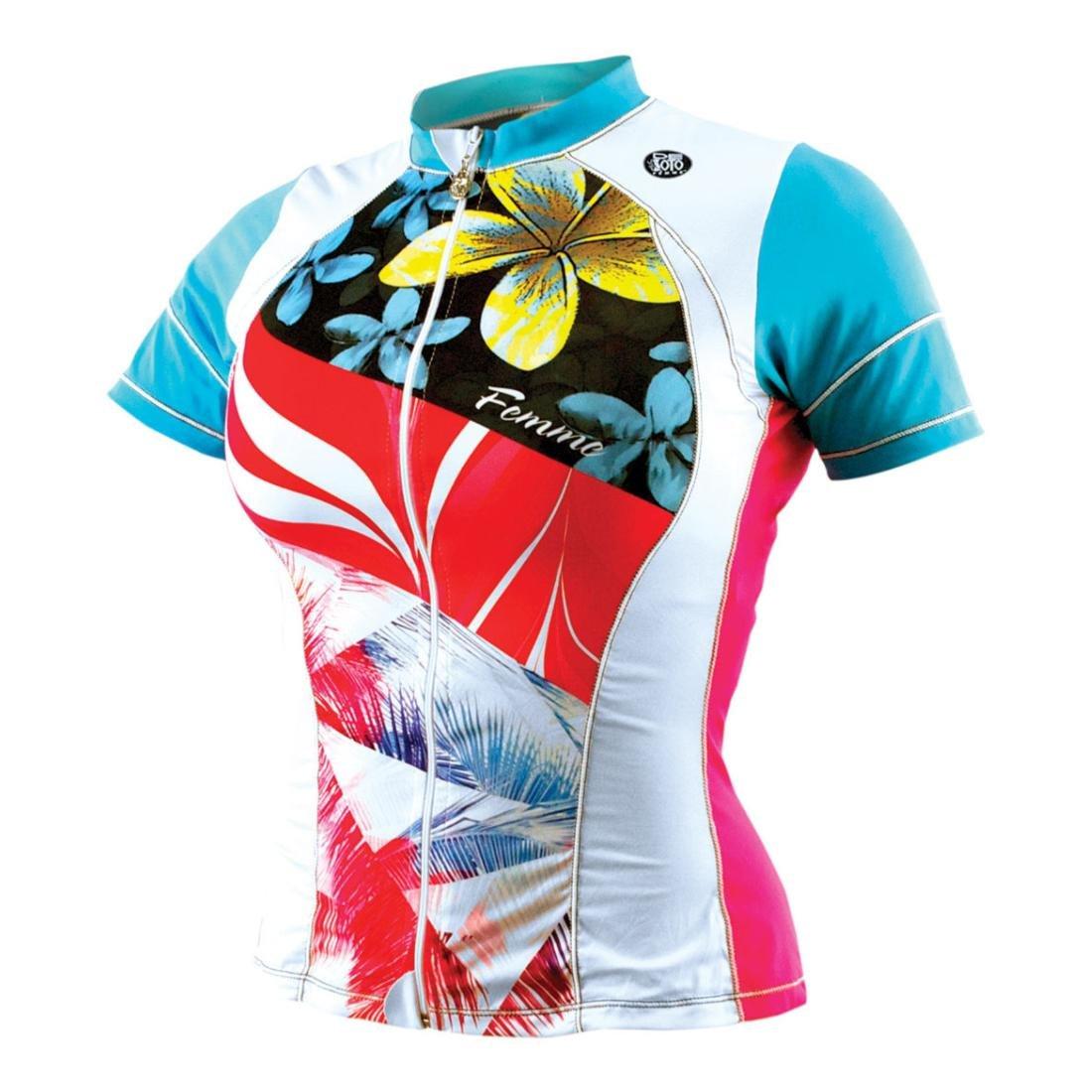 1e286d761ae6d Amazon.com   Desoto Women s Femme Skin Cooler Short Sleeve Tri Top   Sports    Outdoors