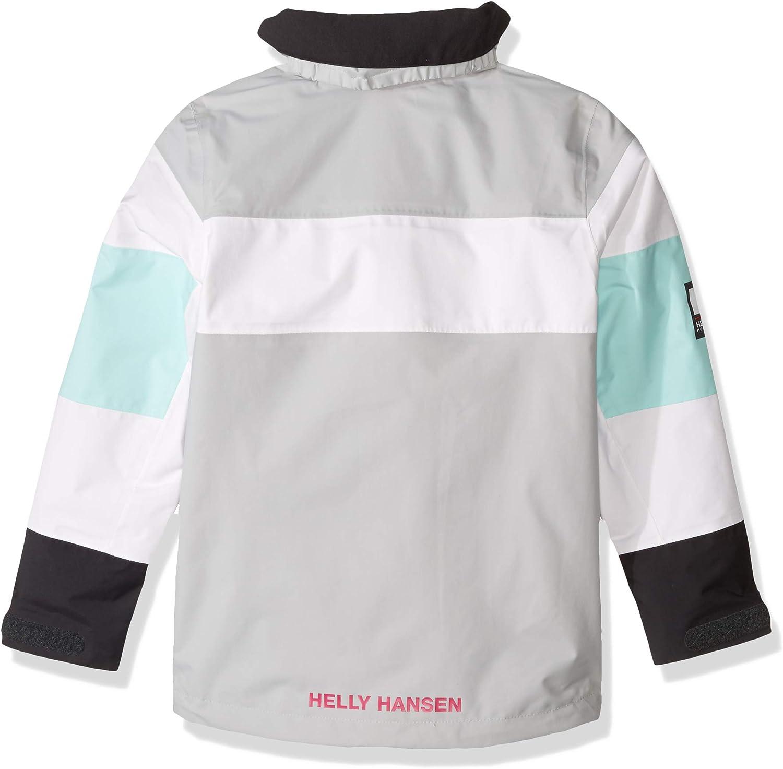 Helly-Hansen Kids /& Baby Jr Salt Port Waterproof Sailing Rain Jacket with Hood