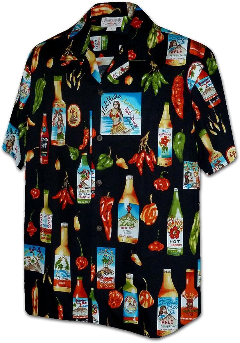 Chili Hot Sauce Men's Cotton Shirts
