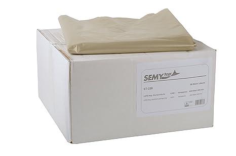 Semy ST-220 - Pack de 50 bolsas de polietileno, 1000 l, tipo ...