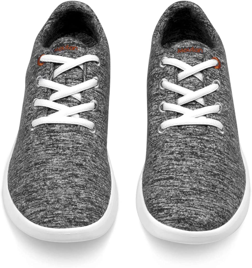 LeMouton Classic Unisex Wool Shoes Men Women Fashion Sneakers Comfortable Lightweight Casual Lace Up Shoe