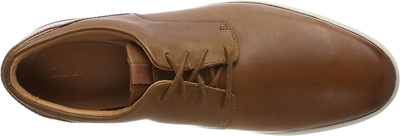 Clarks Vennor Walk, Derbys Mixte Marron Tan Leather