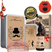 QQwow Beard Kit Best for Mens Grooming and Beard Care Deals