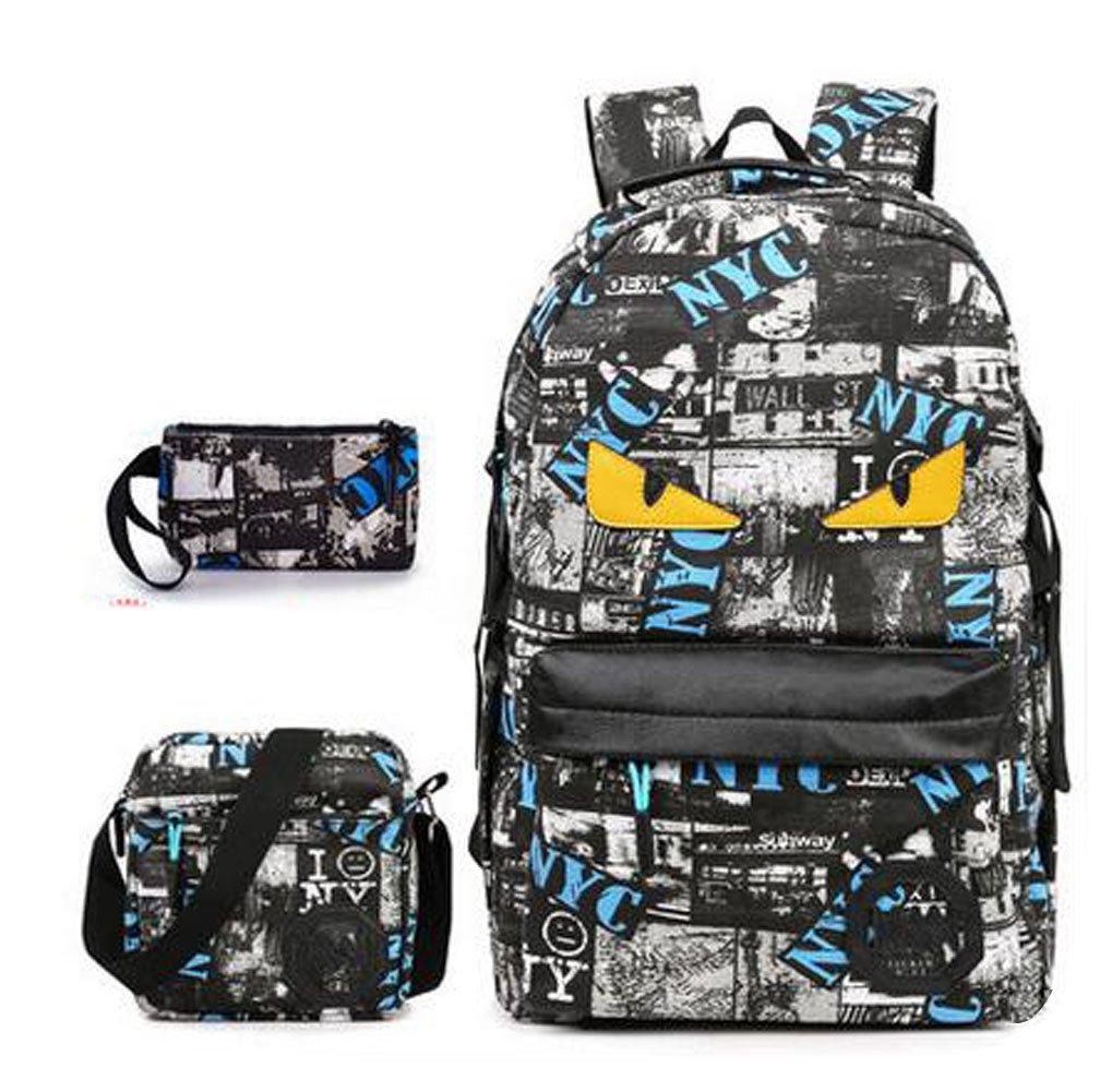 Hiking and Leisure Juego de bolsos escolares multicolor azul azul multicolor y rojo 8c409c