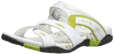 Kamik Sandbanks, Damen Pantoletten, Weiß (White/WHT), 43 EU