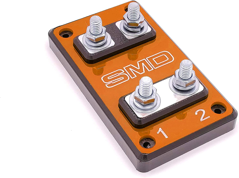 amazon.com: smd heavy duty double anl fuse block: musical instruments  amazon.com
