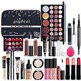Kit completo de maquiagem para mulheres, kit de maquiagem para iniciantes, kit multifuncional para presente, maquiagem profis