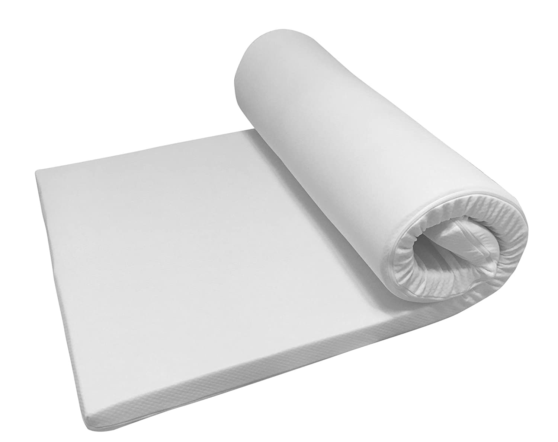 Nova Sleep Topper 160x200 cm Kaltschaum Topper mit Kernhöhe 3 cm, Gesamthöhe 4 cm, RG 30m³, 200 gramm. Klimawatte Basic Art. Nr. 17-H3-BA-160