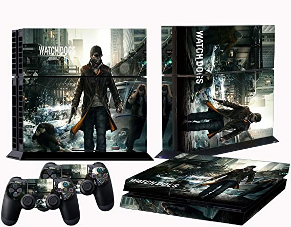 Buy Sony PS Skins Watch Dogs Vinyl Decal Cover For Console Online - Doc's video games