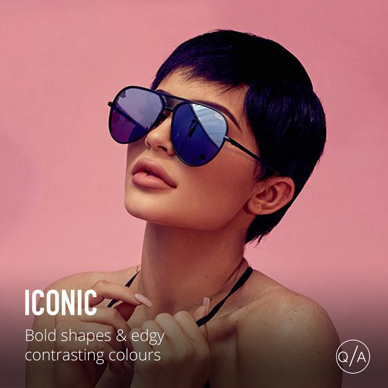 382615bf93d Quay Eyewear Unisex Adults  Iconic Sunglasses