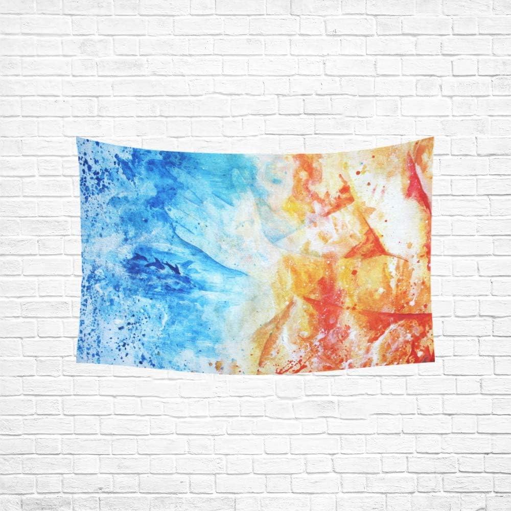 JEOLVP Tapisserie Mignon Panda Bambou For/êt Tapisseries Tenture Murale Fleur Tapisserie Psych/éd/élique Tenture Murale Dortoir Indien D/écor pour Le Salon Chambre 60 X 40 Pouce