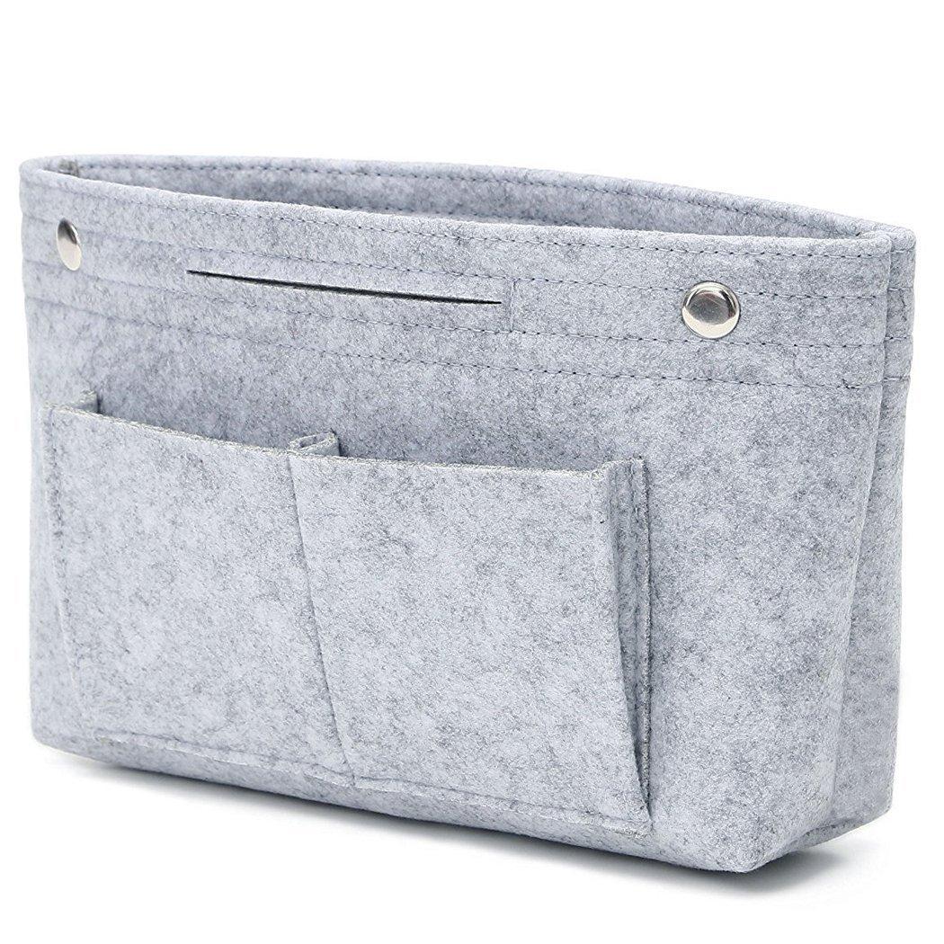 VANCORE Felt Insert Handbag Organizer Travel Purse Bag Organiser