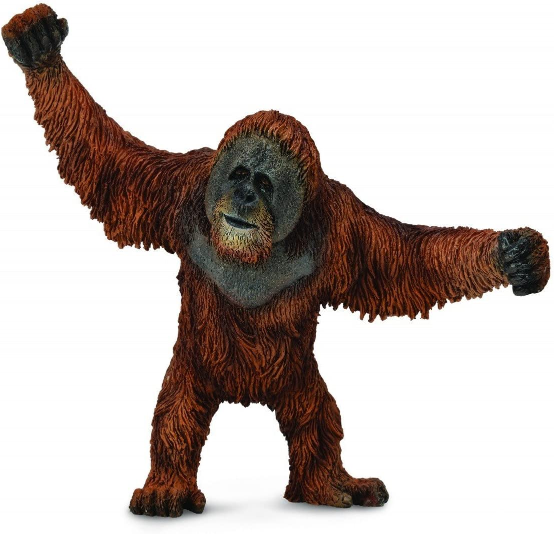 Schleich Wild Life Female Orangutan Animal Figure