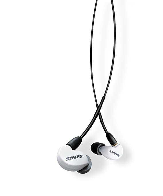 Shure Se215 Spe W Bt1 Wireless Sound Isolating Earphones With Bluetooth Enabled Communication Cable by Shure