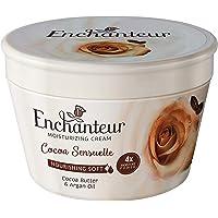 Enchanteur Nourishing Soft Moisturizing Cream - Cocoa Sensuelle For Soft, Smooth Skin, Instant Softness, 100 ml