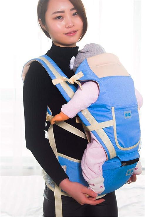 76643587ddc Kawei Porte-bébé ergonomique réglable pour nouveau-né Taille Tabouret pour  enfant Multifonction Bretelles