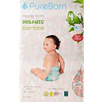 Pure Born Size 4 Disposable Diapers Pack, 7 to 12 kg - 48 pcs - Palm