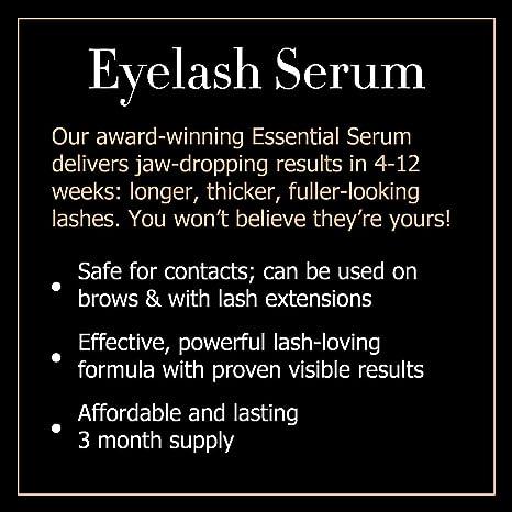 714155869a8 Amazon.com: Babe Lash Eyelash Serum 2mL POWERFUL Brow & Lash Enhancing  Formula for Beautiful, Strong Lashes: Babe Lash: Beauty