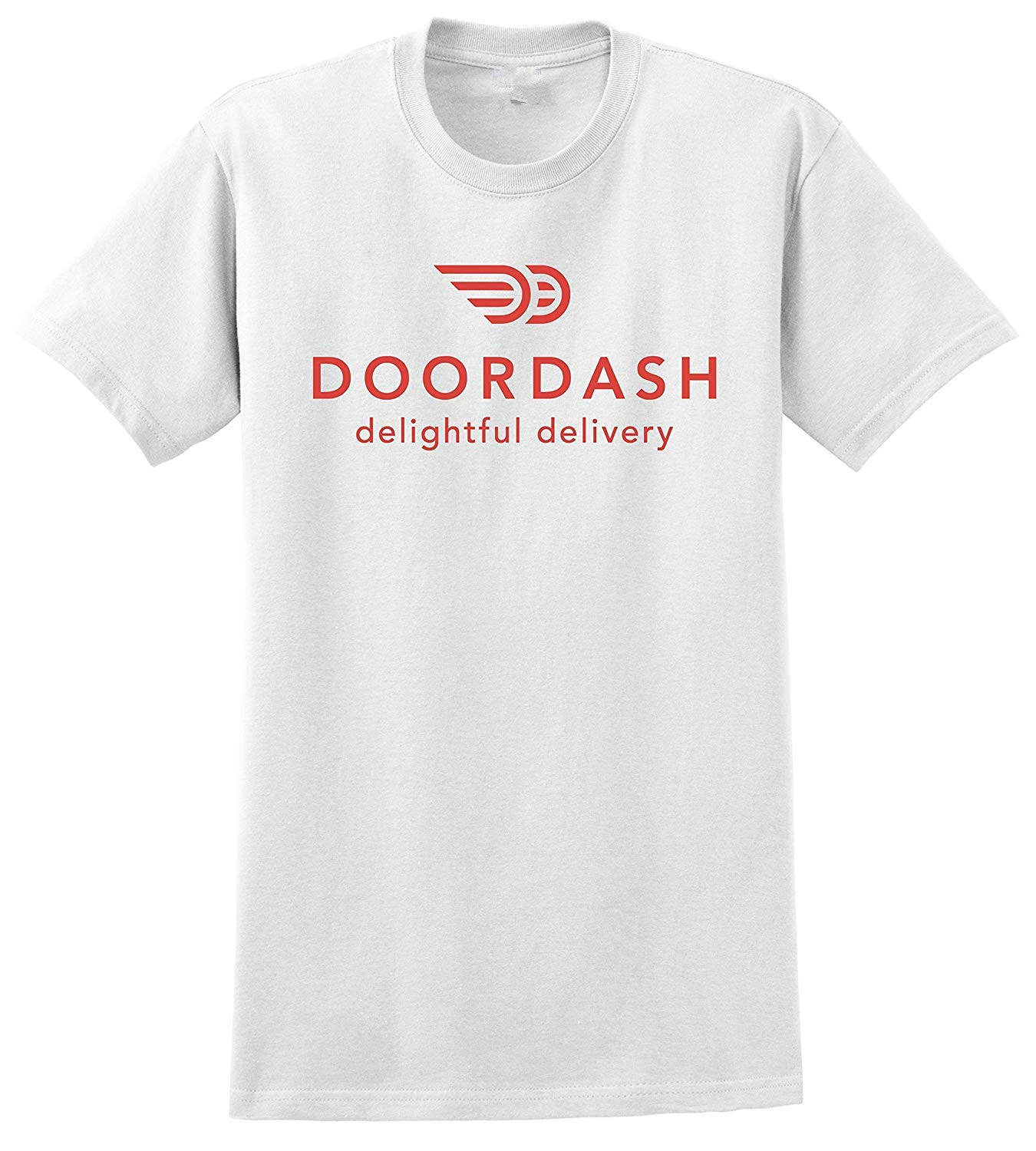 Soft T Doordash Delightful Delivery Print S Casual T Shirts 1653
