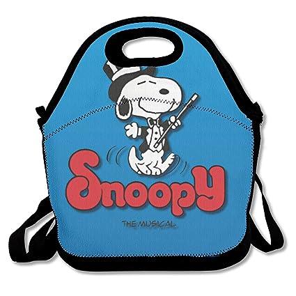 Amazon.com - LIUYAN Personalized Lunch Box Snoopy Musical ...