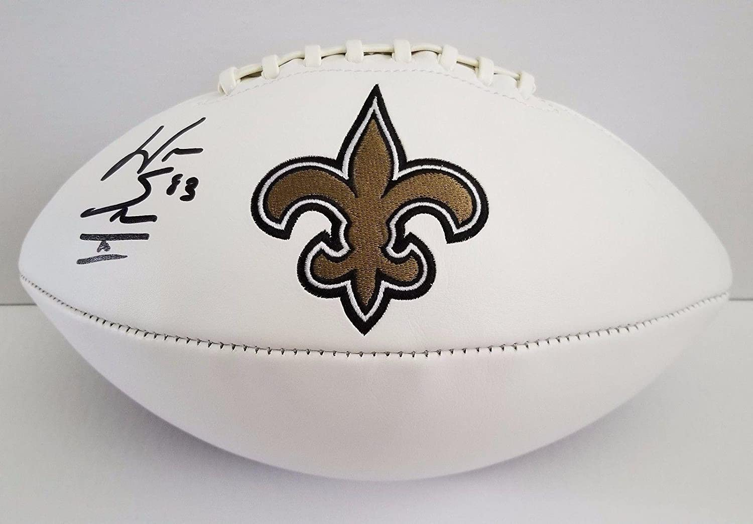 Willie Snead (Carolina Panthers) Autographed Ball - JSA Certified -  Autographed Footballs at Amazon s Sports Collectibles Store 3a5be8392