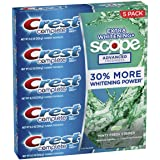 Crest Complete Advanced Flavoridetoothpaste 5 Pack 8.2 Oz Net Wt 41 Oz