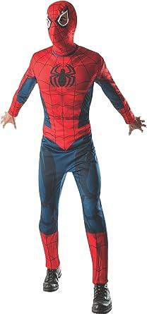 Rubies Mens Marvel Classic Adult Spider-Man Costume, Multi, Standard