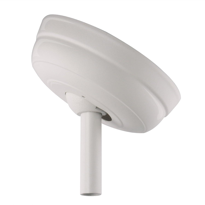 Emerson Ceiling Fans CFSCKSW Sloped Ceiling Kit, Vaulted Ceiling Fan Mount, Satin White