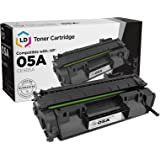 LD © Compatible Replacement for HP CE505A / 05A Black Toner Cartridge for use in LaserJet P2035, P2035n, P2055d, P2055dn & P2055X