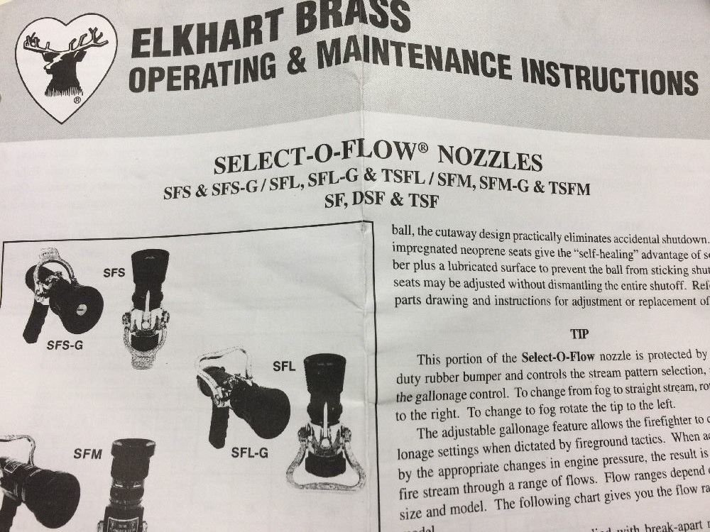 Elkhart Brass Select-O-Flow Nozzle Silver/Black by Elkhart Brass (Image #2)