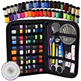 lovelyhome Zipper Portable and Mini Sew Kit for Travelers, Beginner, Emergency