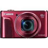 Canon PowerShot SX720 HS Digital Camera (Red)