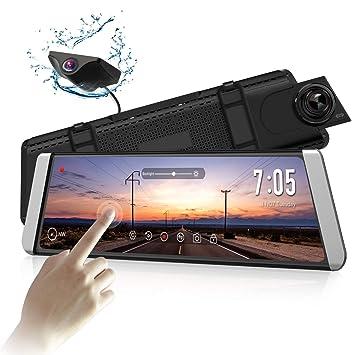 Amazon.com: Cámara de seguridad AUTO-VOX X1 con espejo de 9 ...