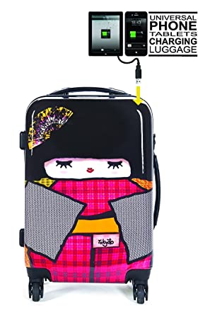 d7e993e731cfd5 Tokyoto Ryanair / Easyjet Hand Luggage / Cabin Suitcase Trolley, Doll,  SIZE: 50