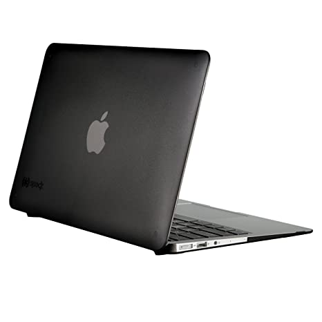 premium selection 1bd9a 31df1 Speck Products See Thru Onyx Case for Macbook Air 13 Inch, Black Matte -  71478-0581