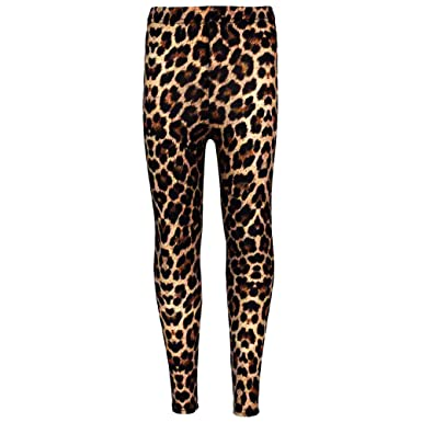 c484d16ae16d2 Amazon.com: a2z4kids Girls Legging Kids Animal Leopard Print Fashion  Stylish Trendy Leggings 5-13 yrs: Clothing