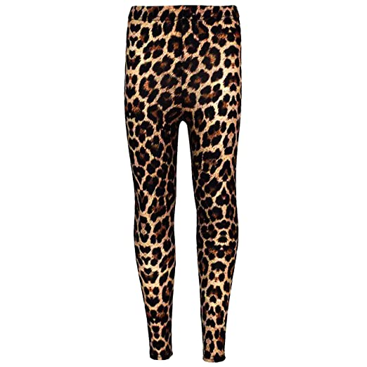 896f8d21a1c Amazon.com  a2z4kids Girls Legging Kids Animal Leopard Print Fashion  Stylish Trendy Leggings 5-13 yrs  Clothing