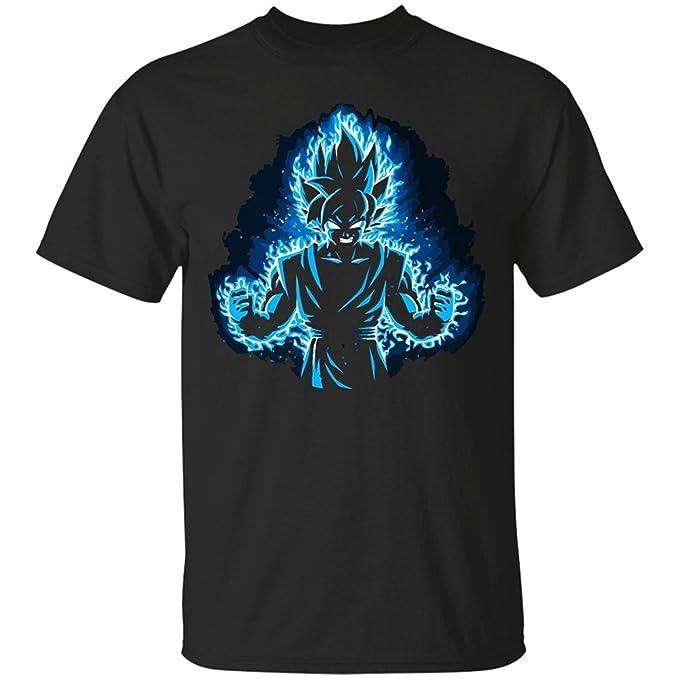 Amazon.com: lesgo-tshirt Hombres de negro de dibujos ...
