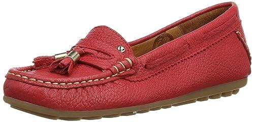 Martinelli Astarte 527_V14 - Mocasines para mujer, color rojo, talla 35: Amazon.es: Zapatos y complementos